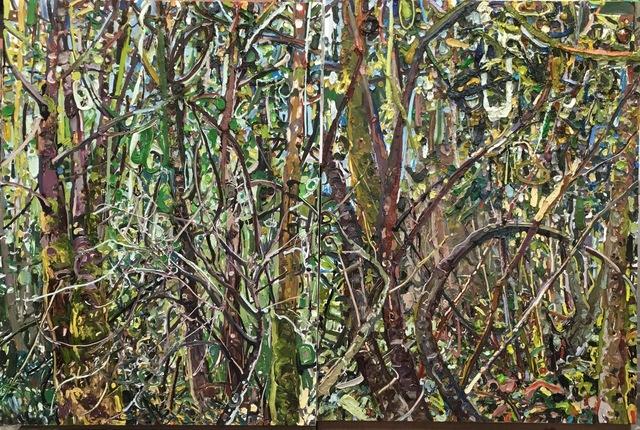 , 'Hyperbolic Nature--Washington Woods (diptych),' 2002, Thomas Deans Fine Art