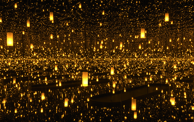 , 'Infinity Mirrored Room—Aftermath of Obliteration of Eternity,' 2009, Seattle Art Museum