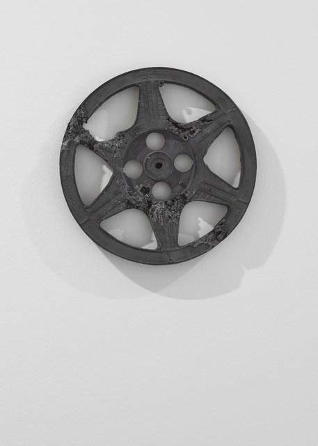 , 'Ash Eroded Film Reel,' 2013, Galerie Ron Mandos
