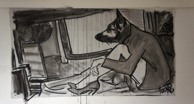 , 'Dog,' 2016, ONE Gallery
