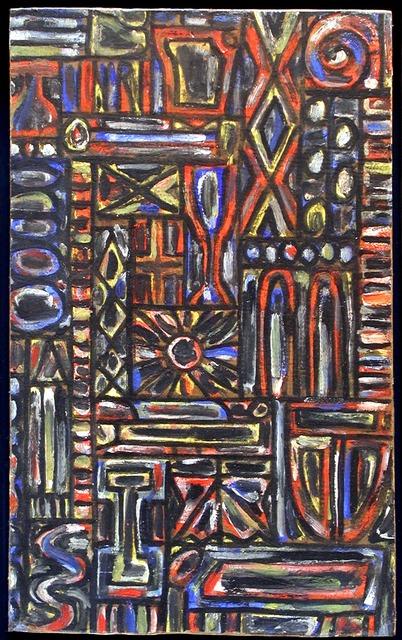 , 'Jewel Grid,' ca. 1970, Cecilia de Torres, Ltd.