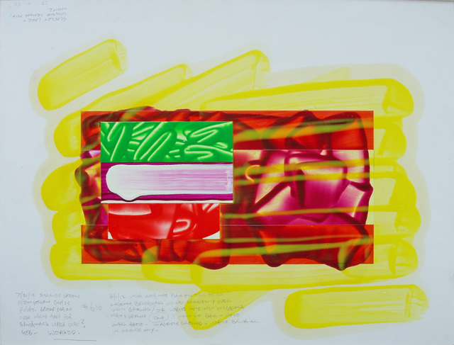 , 'Color Study #29 for Painting #616,' 2012, Häusler Contemporary