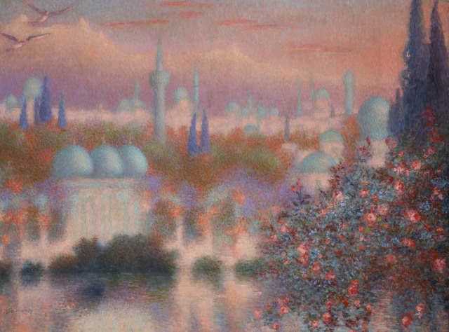 , 'Les roses d'Ispahan,' ca. 1910, Trinity House Paintings