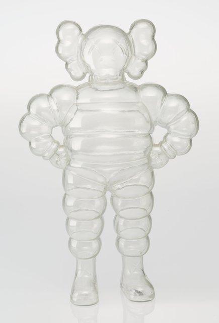 KAWS, 'Chum (Clear)', 2002, Sculpture, Plastic, Lougher Contemporary