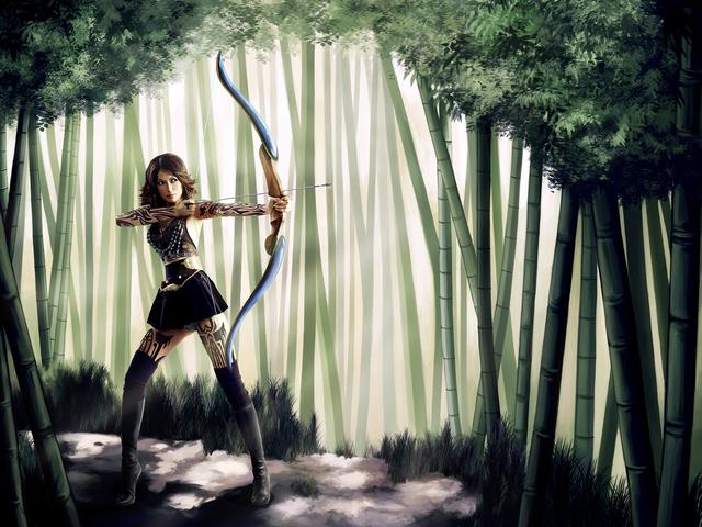 , 'Manga Dreams, Forest Defender,' 2009, CAMERA WORK