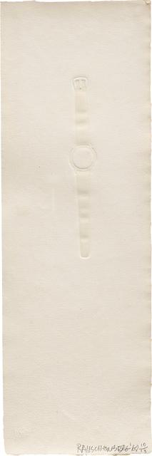 Robert Rauschenberg, 'Intaglio Watch', 1968, Phillips