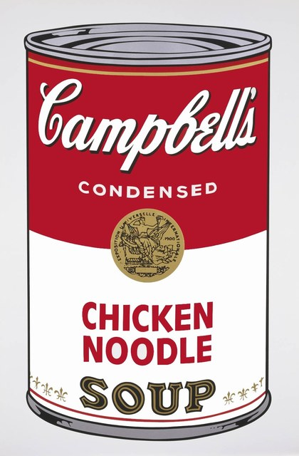 Andy Warhol, 'Campbell's Soup II: Chicken Noodle (FS II.45) ', 1968, Print, Screenprint on Paper, Revolver Gallery