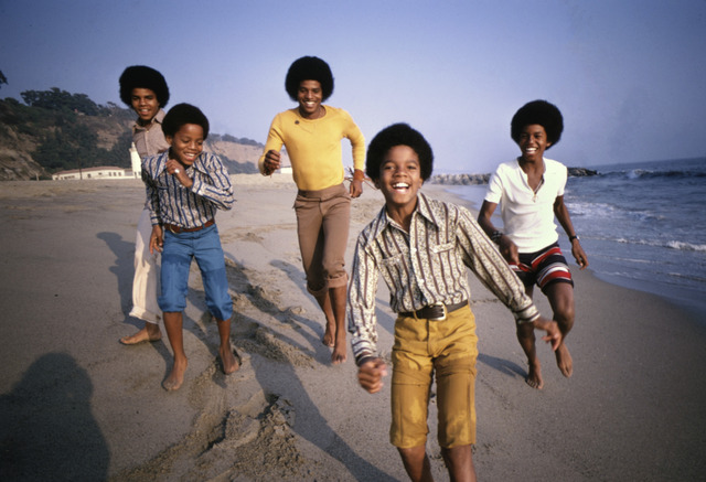 Lawrence Schiller, 'Jackson 5, Malibu Beach', 1960-1970, Mouche Gallery