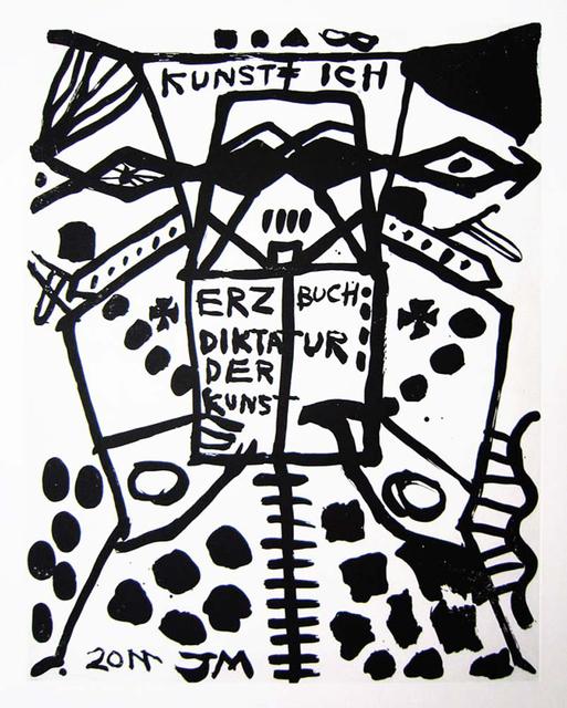 Jonathan Meese, 'Mutter der 1. Ordnyng: Ausrichtung', 2011, Galerie Sabine Knust