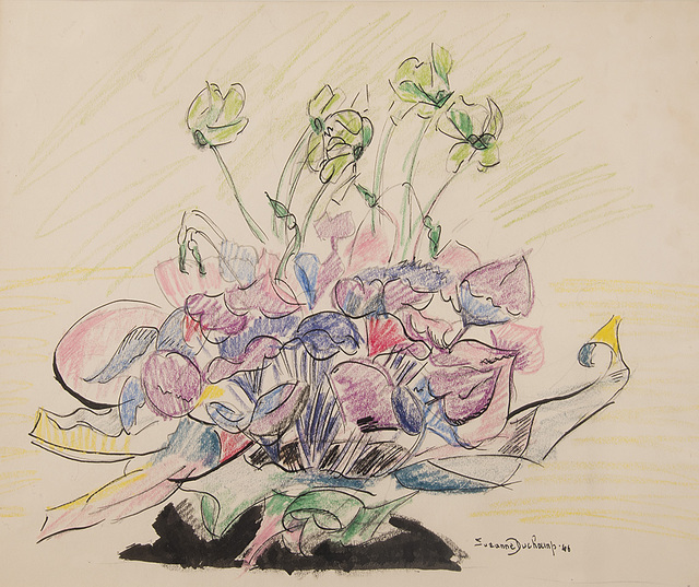 , 'Untitled (Flowers),' 1946, Francis M. Naumann Fine Art