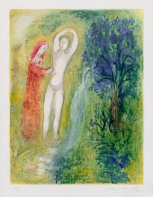, 'Daphnis et Chloe au Bord de la Fontaine, from Daphnis et Chloe,' 1961, Leslie Sacks Gallery