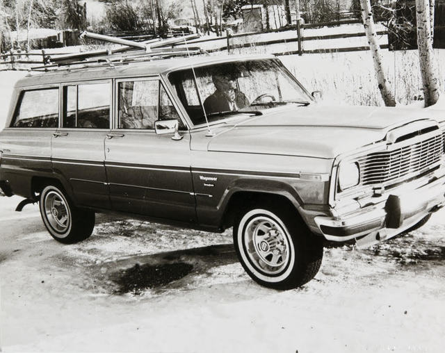 Andy Warhol, 'Andy Warhol, Photograph of a Jeep Wagoneer in Aspen, 1980s', 1980s, Hedges Projects