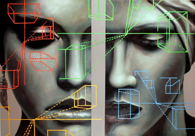 Manzur Kargar, 'Architecture of Beauty', 2014, Isabella Garrucho Fine Art