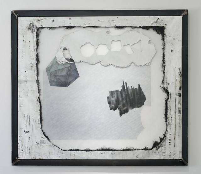 , 'PLATONIC SOLID'S DREAMING/DETROIT'S SHRINKING (Icosahedron),' 2014, Galerie Nathalie Obadia