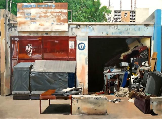 , 'Tapissier, Sicap,' 2017, Galerie Cécile Fakhoury - Abidjan