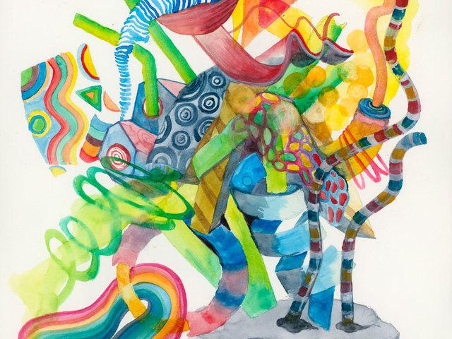 , 'Untitled,' 2016, Ayyam Gallery