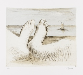 Henry Moore, 'Feet on Holiday II (Cramer 563),' 1979, Forum Auctions: Editions and Works on Paper (March 2017)