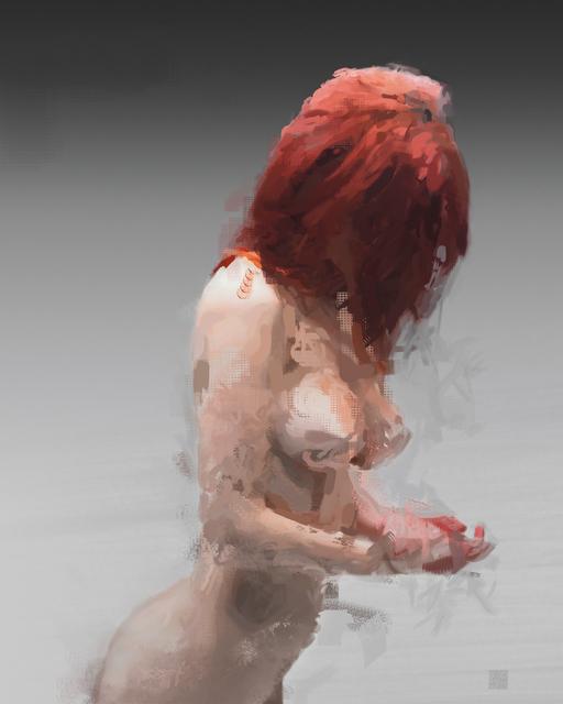 , 'Crimson Me,' 2010, Susan Eley Fine Art