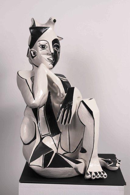 , 'Aspiring to Grace,' 2014, Maria Elena Kravetz