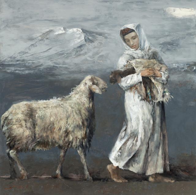 Cen Long, 'The Newborn Lamb', 2017, Hann Art Agency