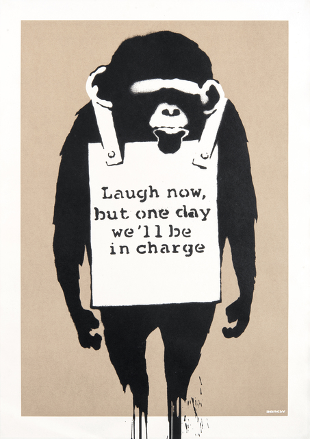 Banksy, 'Laugh Now', 2004, Tate Ward Auctions