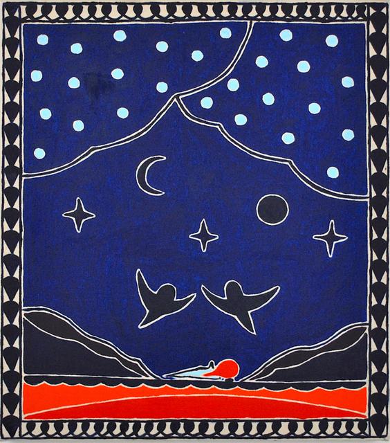 , 'Blue Blue Night,' 2019, Hans Alf Gallery