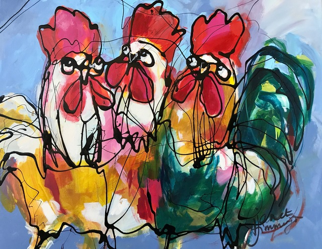 , 'Chicks,' 2017, Try it ART