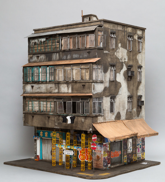 , 'Temple Street (based on 23 Temple Street in Kowloon, Hong Kong),' 2017, Muriel Guépin Gallery