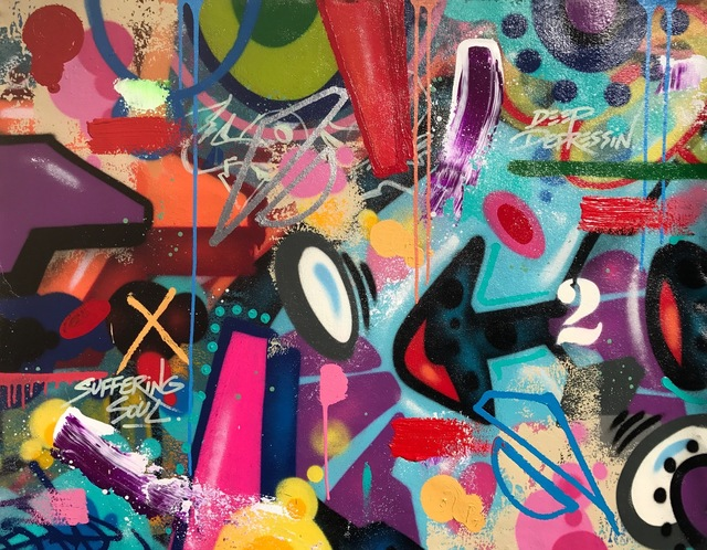 COPE2, 'Suffering Soul', 2019, Galerie Martine Ehmer
