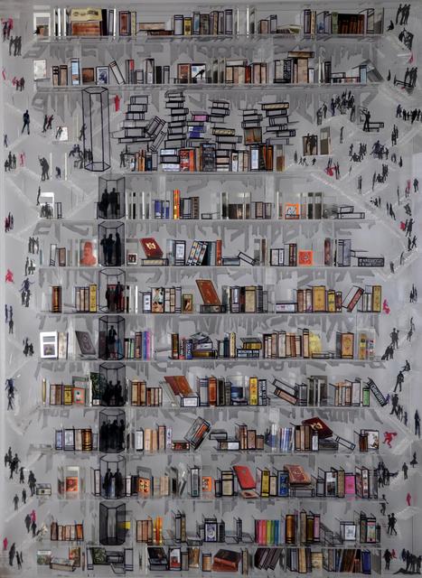 , 'Sanat Kütüphane - 2,' 2014, Artnivo