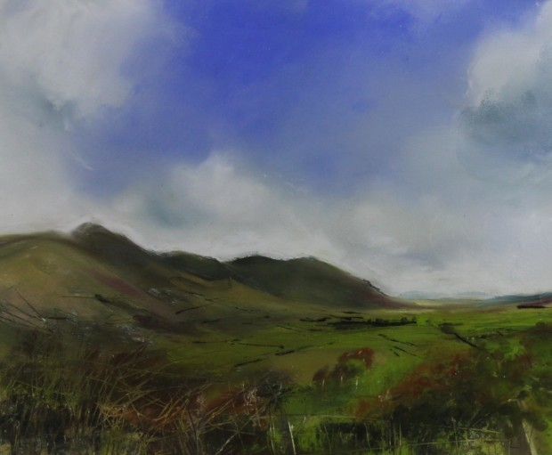 , 'Hints of Autumn, Skiddaw,' 2017, Castlegate House Gallery
