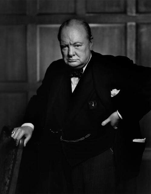 Yousuf Karsh, 'Winston Churchill', ca. 1941, Yancey Richardson Gallery