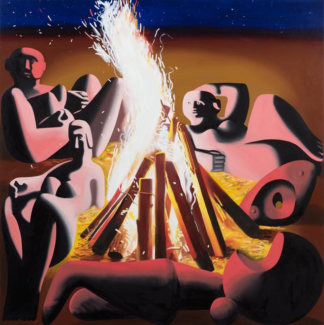 , 'Auriga Rising,' 2017, Moskowitz Bayse