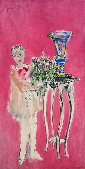 SRĐAN VUKČEVIĆ, 'Girl with a Bouquet', 1998, Museum of Modern Art Dubrovnik