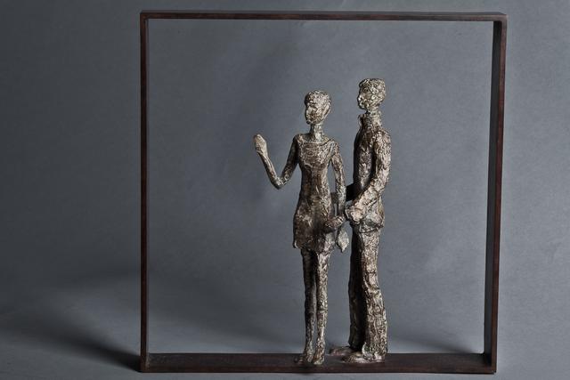 , 'Le couple de passants,' 2016, Virginie Barrou Planquart