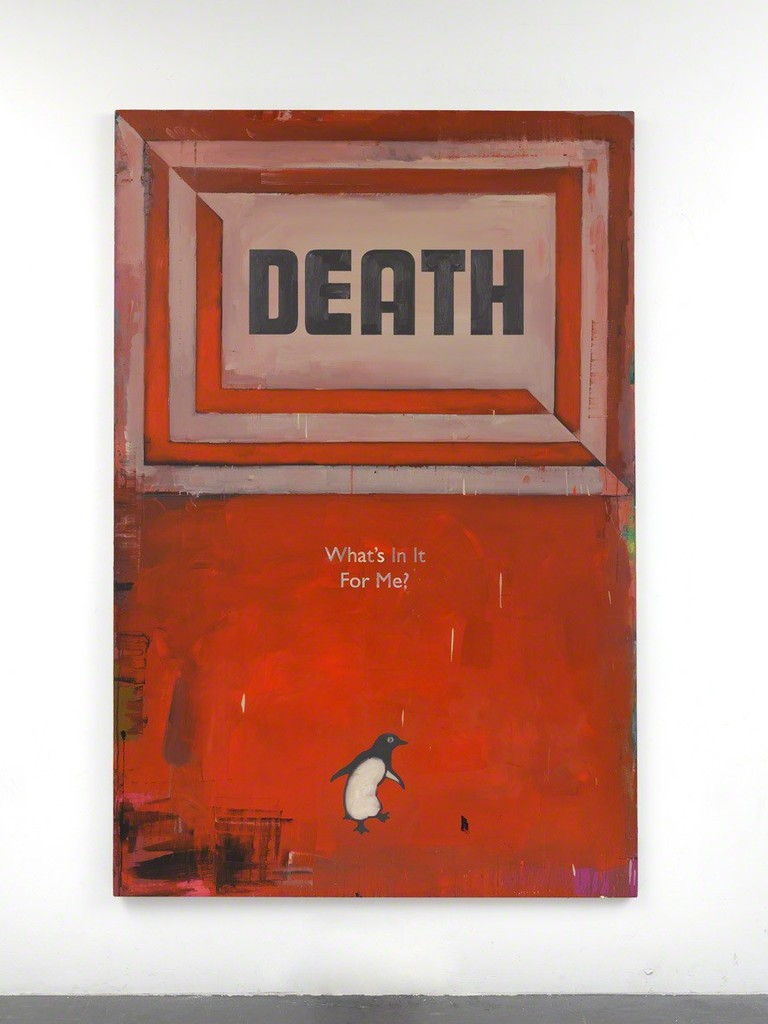Harland Miller, 'Death, What's In It For Me?,' 2011, Ingleby Gallery