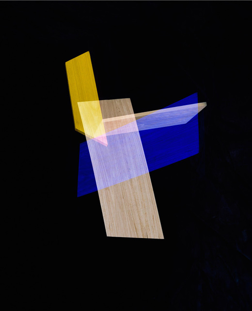 , 'Blue, Yellow Intersection,' 2014, Julie Saul Gallery