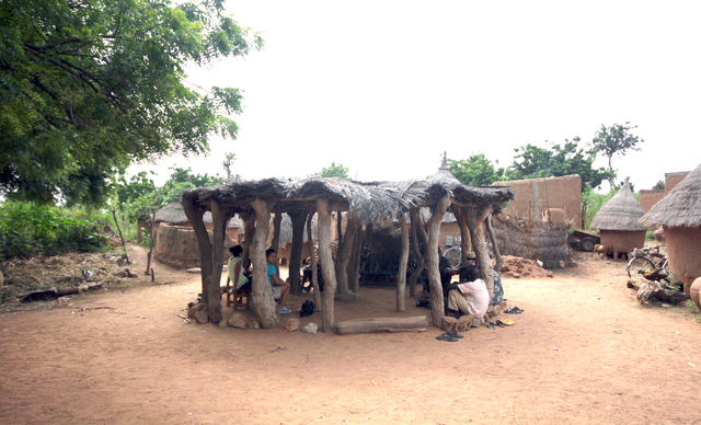 , 'Village Elders in Burkina Faso,' 2012, Louisiana Museum of Modern Art