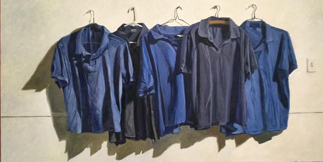 , 'Blue Notes,' 2020, Eckert Fine Art