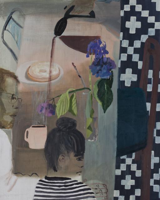, 'Waiting,' 2018, Nancy Margolis Gallery