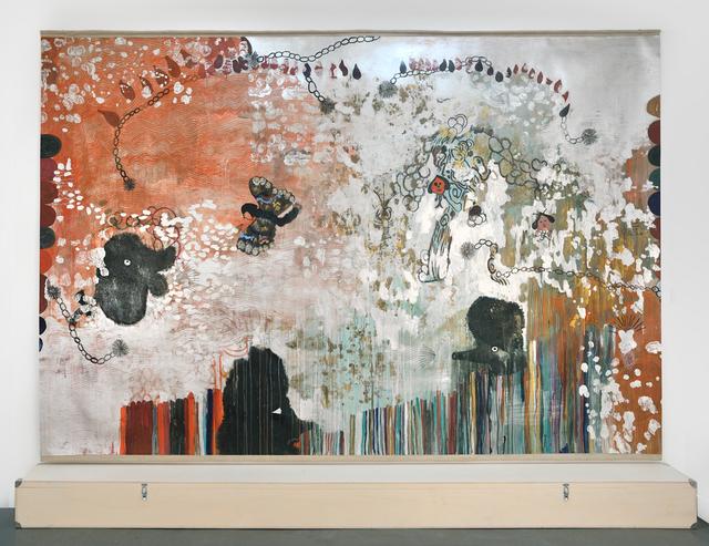 , 'Le papillon que n'a jamais capturé Nabokov ou autre titre,' 2013, Galerie Christophe Gaillard