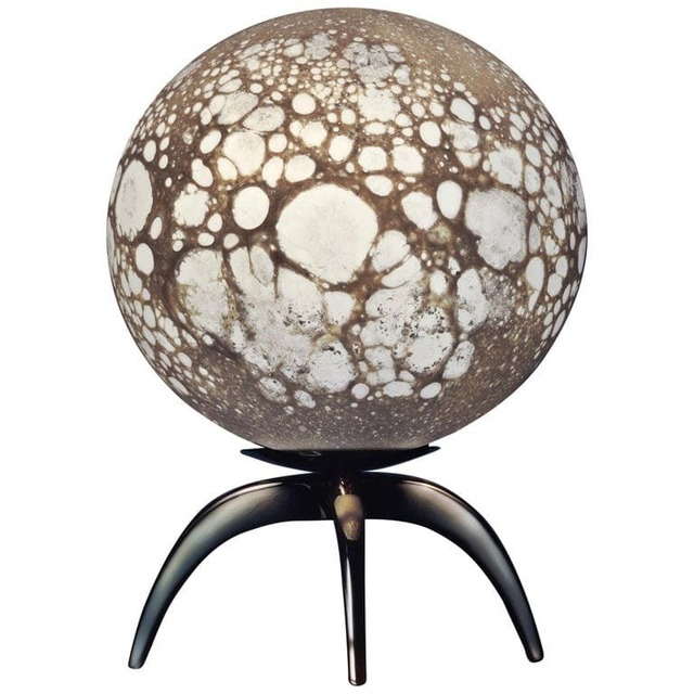 Ludovic Clement d'Armont, 'Moon Sculpted Table Lamp by Ludovic Clément d'Armont', 2019, Design/Decorative Art, Blown Glass, Galerie Philia