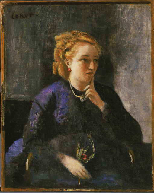Jean-Baptiste-Camille Corot, 'Portrait of a Woman', 1870, Phillips Collection