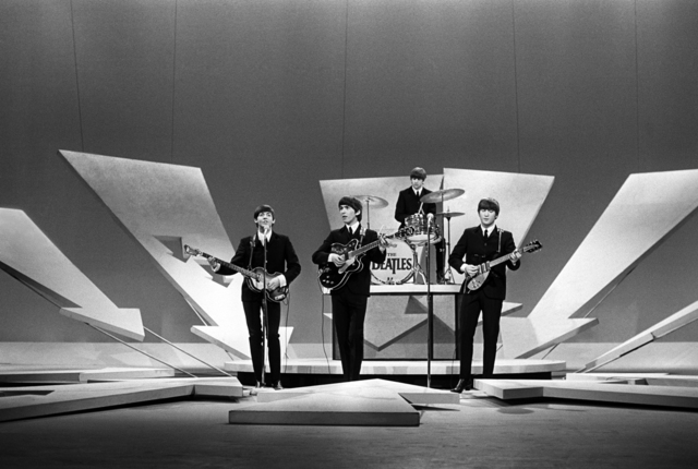 , 'Beatles on Ed Sullivan, (no cameras), NYC,' 1964, Holden Luntz Gallery