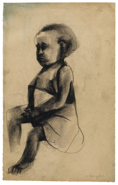 , 'Untitled (Sitting Girl),' 1964-1966, Smithsonian American Art Museum