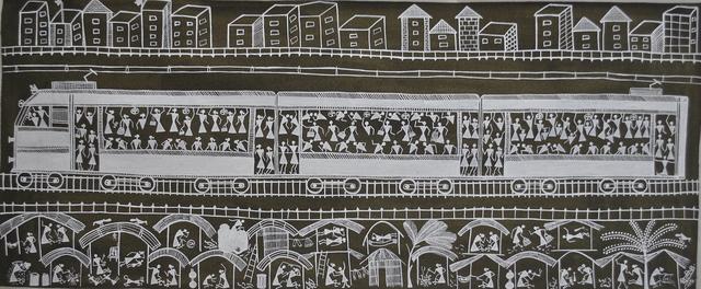 , 'Train,' 1974, Space 118