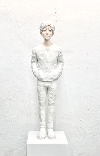 , 'utopian (snow),' 2017, galerie burster