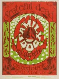 Grateful Dead: a U.S. concert handbill