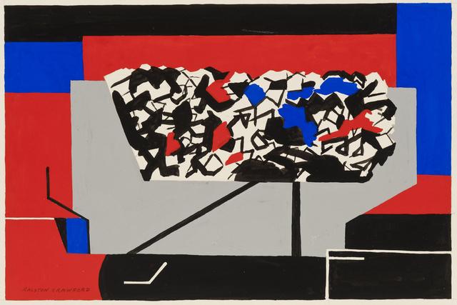Ralston Crawford, 'Coal Car', 1945, Menconi+Schoelkopf