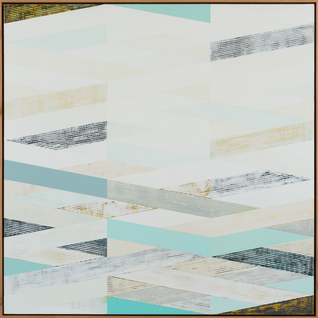 , 'Weave with Winter Hues,' 2016, Julie Nester Gallery